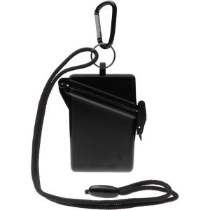 Witz Surfsafe Lightweight Waterproof Sport Case w/ Lanyard & Carabiner - Black