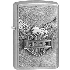 Zippo Harley-Davidson Eagle on the Logo Emblem Pocket Lighter