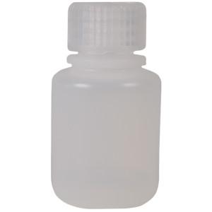 Nalgene HDPE Plastic Narrow Mouth Storage Bottle - 1 oz. - Clear