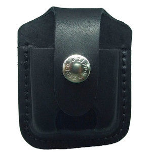 Zippo Lighter Pouch with Loop and Thumb Notch