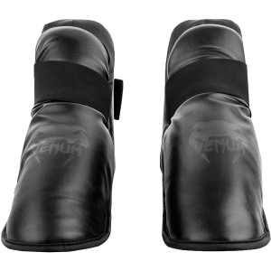 Venum Challenger Lightweight Slip-On Hook and Loop Foot Gear - Black/Black