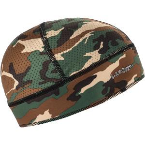 Halo Headband Skull Cap - Camo Green