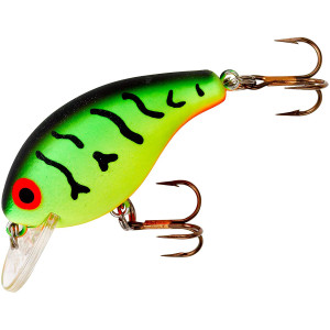 Rebel Super Teeny Wee-R 1/8 oz Fishing Lure - Fire Tiger
