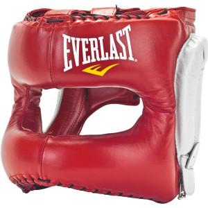 Everlast MX Headgear - Red/White