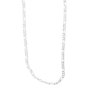 """Cleto Reyes 24"""" Silver Necklace"""