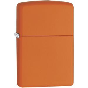 Zippo Regular Matte Pocket Lighter - Orange