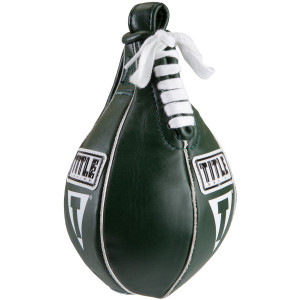 """Title Boxing 4"""" X 7"""" Super Speed Bag - Green"""