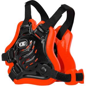 Cliff Keen F5 Tornado Wrestling Headgear - Black/Orange/Black
