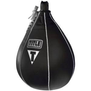 "Title Boxing Leather Speed Bag - Medium (7"" x 10"")"