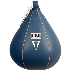 """Title Boxing Leather Speed Bag - XL (10"""" x 12"""")"""