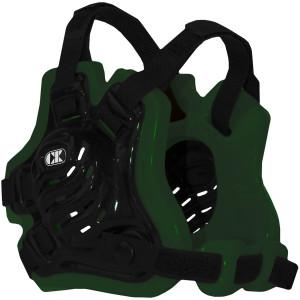 Cliff Keen F5 Tornado Wrestling Headgear - Black/Dark Green/Black