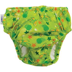 FINIS Reusable Swim Diaper - Turtle Green