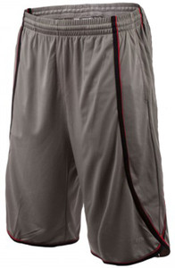 UFC Men's Moisture Wicking Side Winder Sport Shorts - Gray/Black/Red