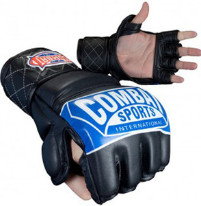 Combat Sports MMA Competition Gloves with Thumb - Black