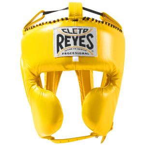 Cleto Reyes Cheek Protection Boxing Headgear - Yellow