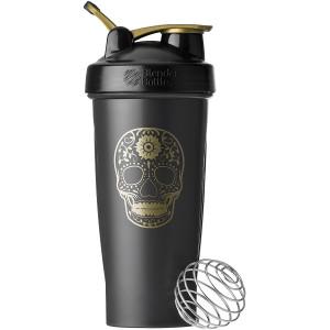 Blender Bottle Deadlift 28 oz. Shaker Cup w/ Loop Top, Dead Lift