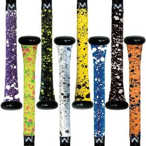 Vulcan Splatter Series 1.0mm Ultralight Advanced Polymer Bat Grip Tape Wrap