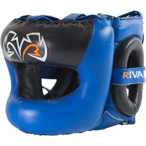 Rival Boxing Guerrero Facesaver Headgear - Blue