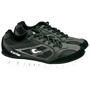 Kanisi Ultra-Lite Boxing Trainer and Running Shoes - Black/White