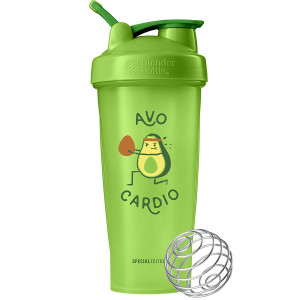 Blender Bottle Special Edition 28 oz. Shaker w/ Loop Top - Avocardio