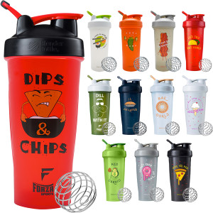 Blender Bottle Foodie Special Edition 28 oz. Shaker Mixer Cup with Loop Top