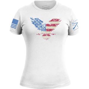 Grunt Style Women's Freagle Crewneck T-Shirt - White