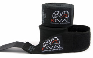 """Rival Boxing 200"""" Traditional Cotton Handwraps"""