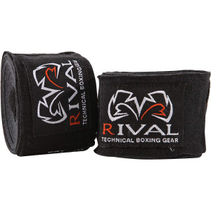 """Rival Boxing 120"""" Traditional Cotton Handwraps"""