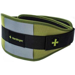 "Harbinger HumanX 6"" Competition CoreFlex Weight Lifting Belt - Hunter Green"