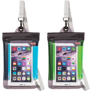Witz Lightweight Waterproof Smartphone Soft Pouch with Removable Strap
