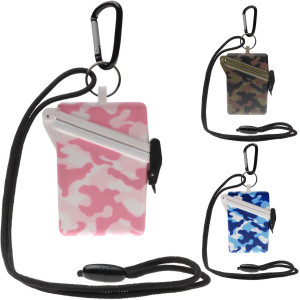 Witz Surfsafe Camo Lightweight Waterproof Sport Case with Lanyard and Carabiner