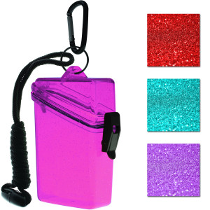 Witz Glitter Box II Keep It Safe Clear Lightweight Waterproof Sport Case