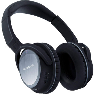 Naztech XJ-500 Wireless Bluetooth Headphones - Black