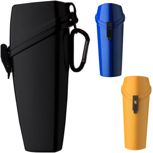 Witz The Wrapper Lightweight Waterproof Eyeglass Case with Carabiner