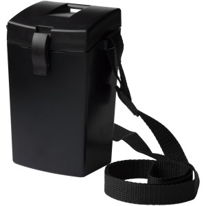 Witz Lightweight Waterproof Shutter Case with Lanyard - Black