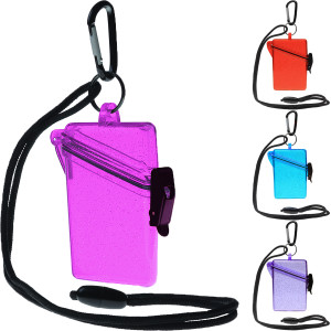 Witz See It Safe Glitter Box I Lightweight Waterproof Sport Case