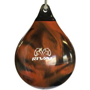 Rival Boxing Aqua Body Work Punching Bag - 18 In. - Black/Orange