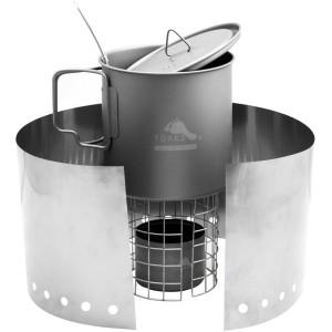 TOAKS Titanium Alcohol Stove Cook System