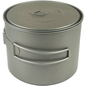 TOAKS Titanium 1300ml Outdoor Camping Cook Pot POT-1300