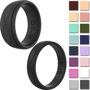 Enso Rings Infinity Series Silicone Ring - Available in Men's and Women's