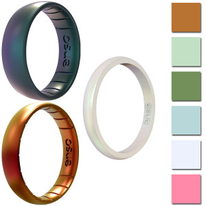 Enso Rings Legends Series Silicone Ring - Available in Classic, Thin, or Halo!