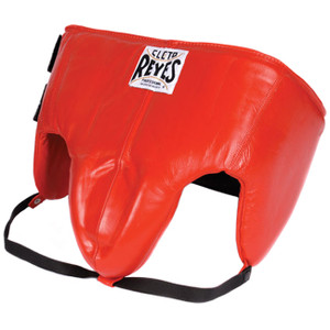 Cleto Reyes Kidney and Foul Padded Protective Cup - Red