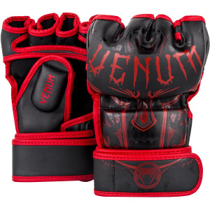 Venum Gladiator 3.0 Training MMA Gloves - Black/Red
