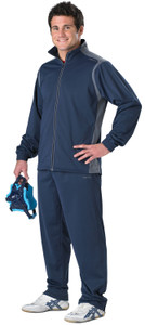 Cliff Keen All American Wrestling Warm-up Suit - Navy/Gray