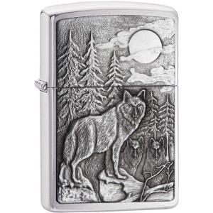 Zippo Timberwolves Emblem Pocket Lighter