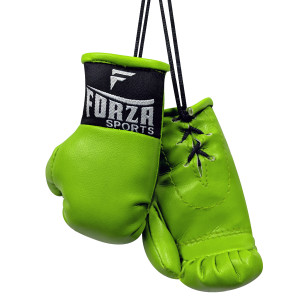 Forza Sports Mini Boxing Gloves - Lime Green