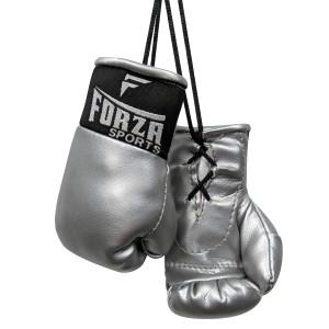 Forza Sports Mini Boxing Gloves - Silver