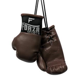 Forza Sports Mini Boxing Gloves - Vintage Brown