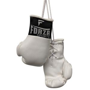 Forza Sports Mini Boxing Gloves - White