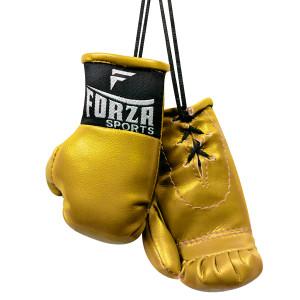 Forza Sports Mini Boxing Gloves - Gold